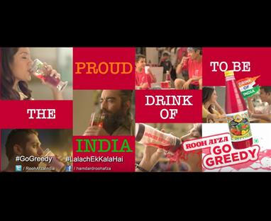 Hamdard-RoohAfza the favorite #DrinkofIndia