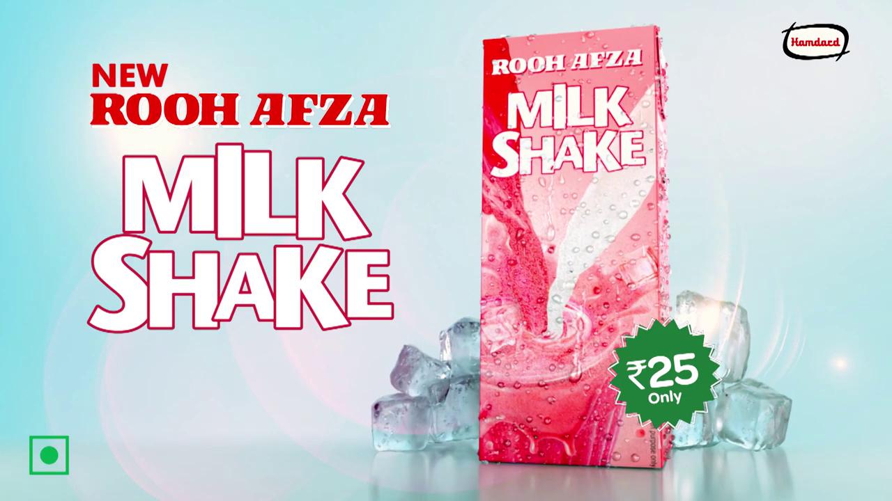 Hamdard-RoohAfza MilkShake